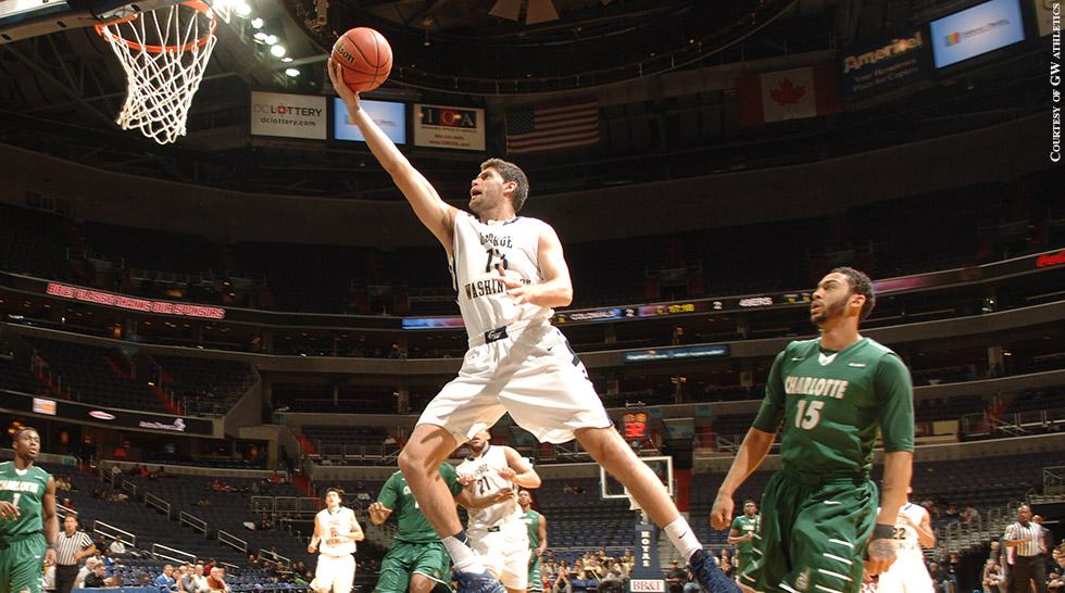 George Washington Basketball 2014 Patricio Garino