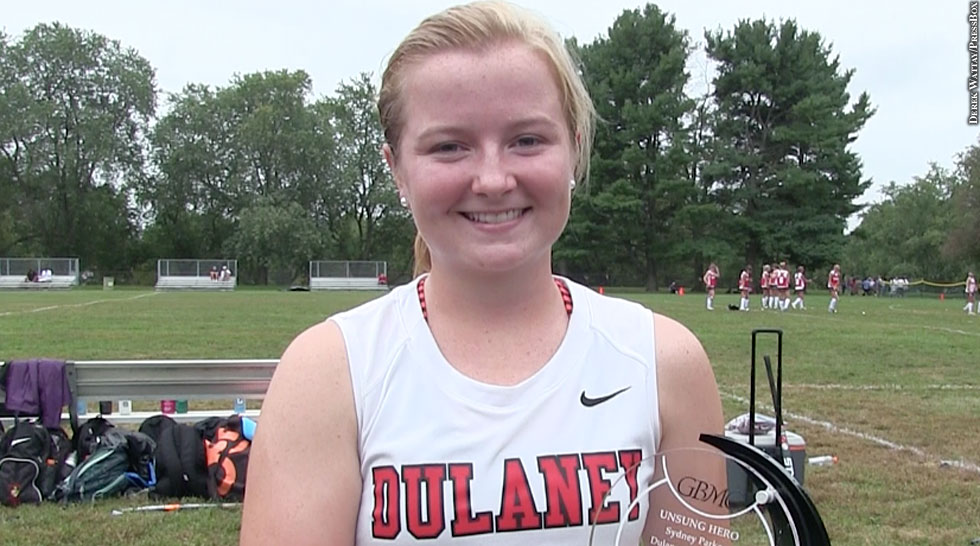 Issue 214: GBMC Unsung Hero: Dulaney Field Hockey Sydney Parker