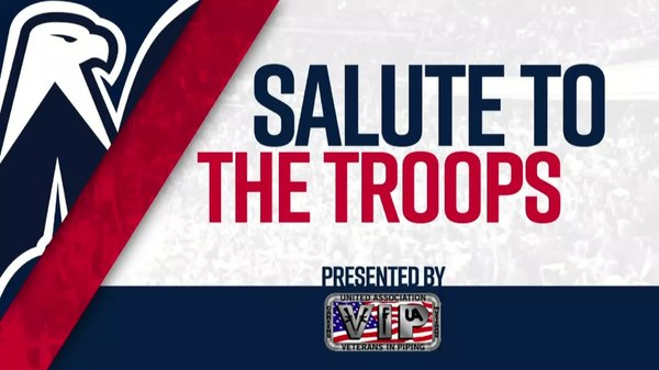 #CapsFlyers Salute to the Troops 1/21/18