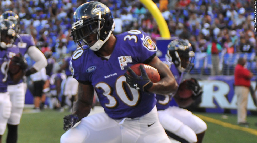 Ravens 2014: Bernard Pierce (training camp)