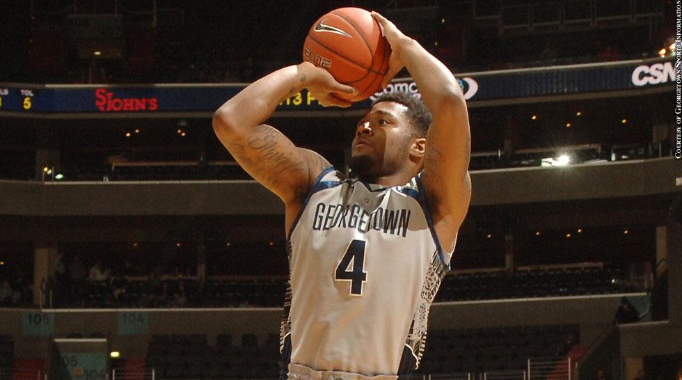 Georgetown Basketball 2015: D'Vauntes Smith-Rivera