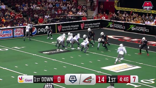 AFL Week 11: Brigade at Cleveland Touchdowns