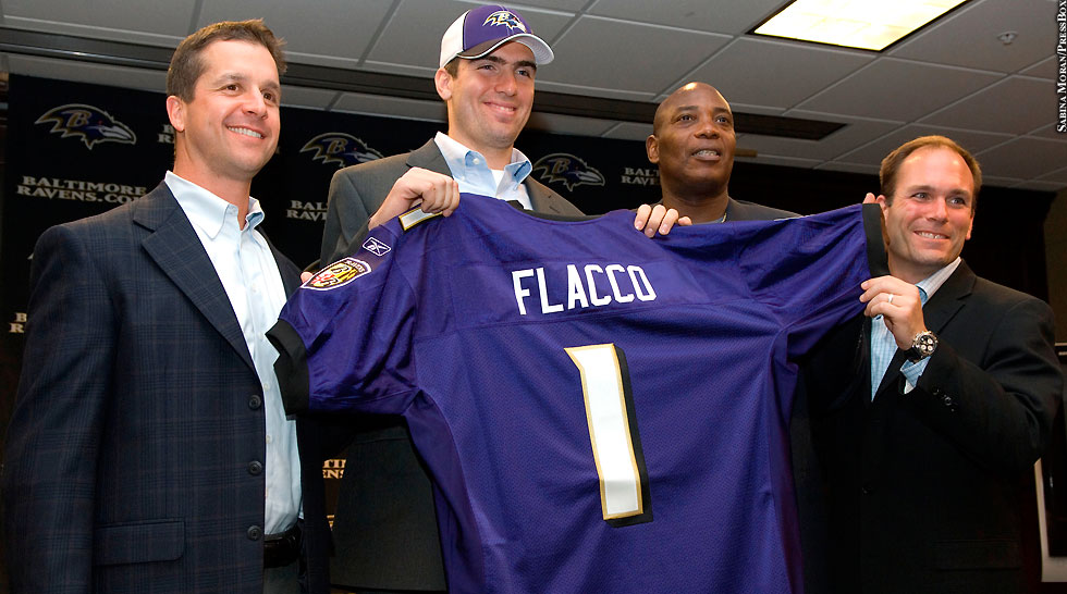 Issue 200: Ravens draft Joe Flacco (John Harbaugh, Ozzie Newsome, Eric DeCosta)