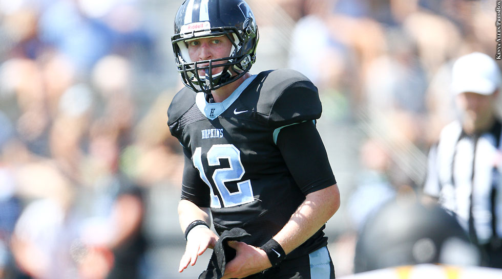 Johns Hopkins Football 2014: Braden Anderson