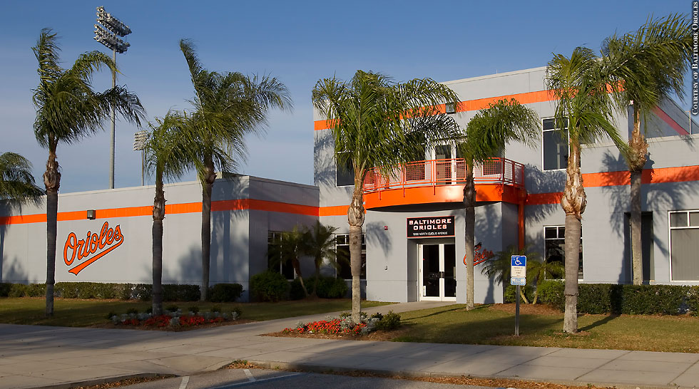 Issue 206: Orioles Spring Training In Sarasota: Ed Smith Stadium (offices)