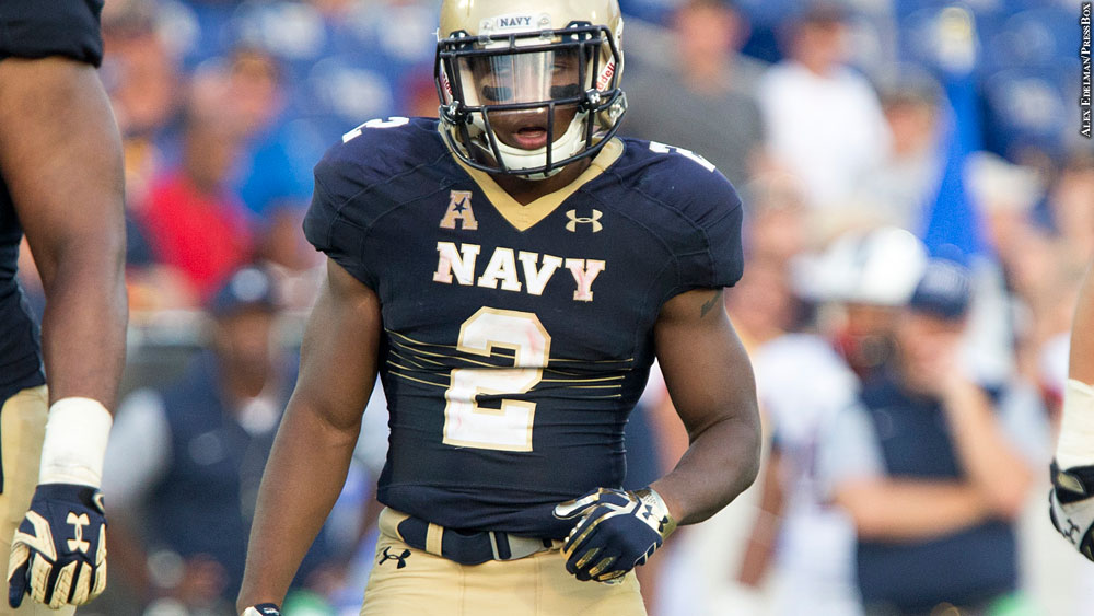 Issue 227: Navy Football 2016: Toneo Gulley
