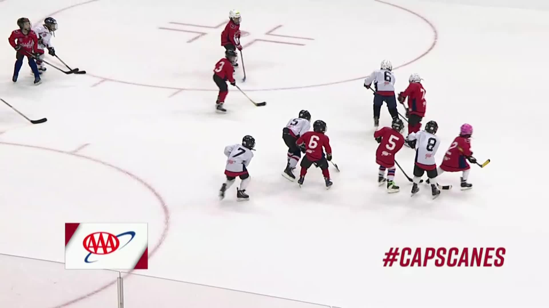 #CapsCanes Mites on Ice 1/11/18