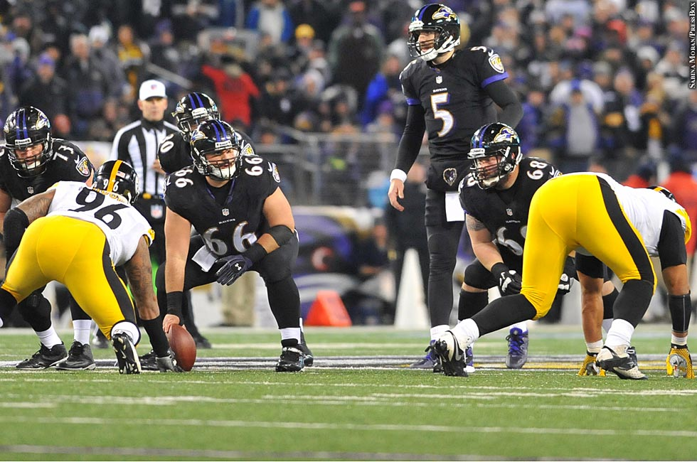 Ravens 2013: Week 13 vs. Pittsburgh Steelers No. 7 (Joe Flacco)