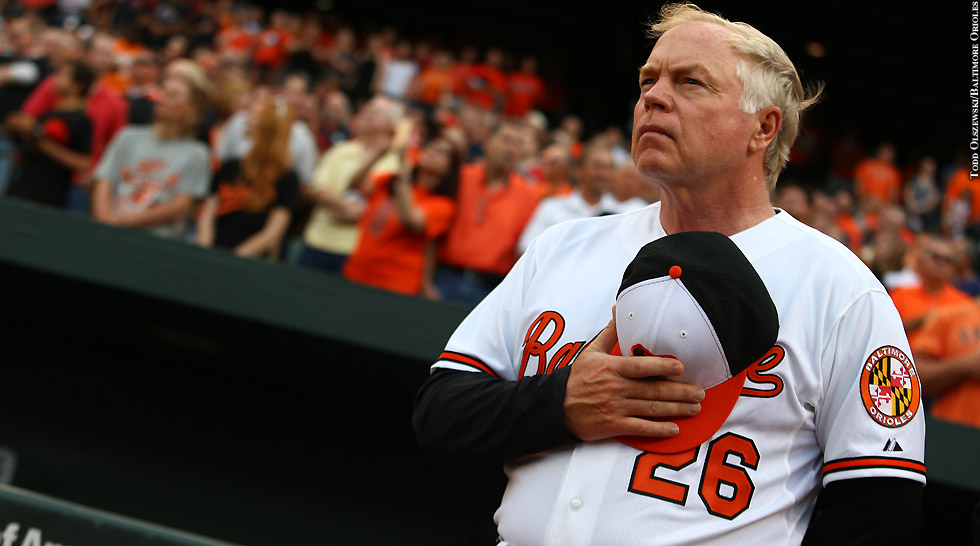 Issue 218: Buck Showalter (anthem)
