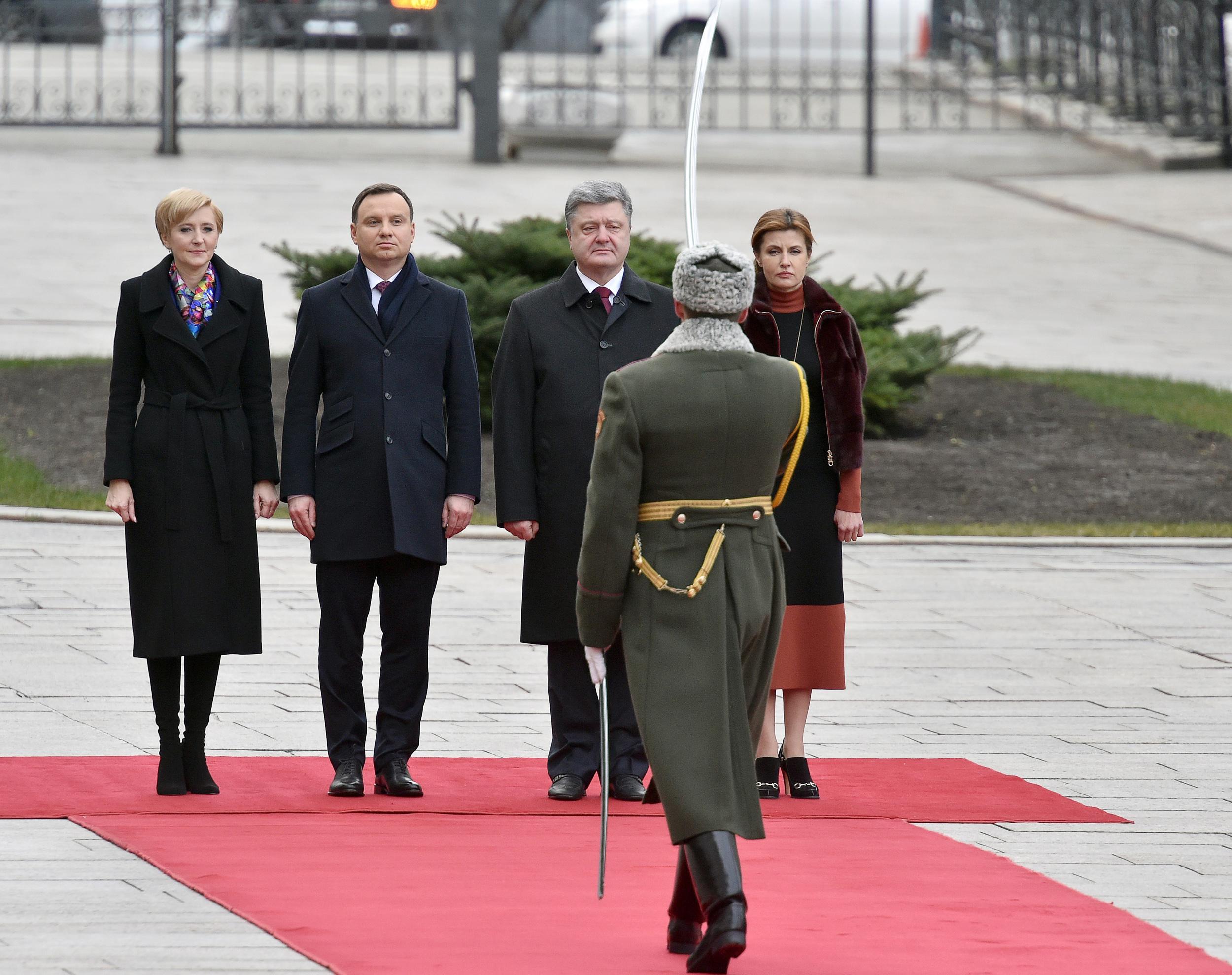 Petro Poroshenko, Andrzej Duda
