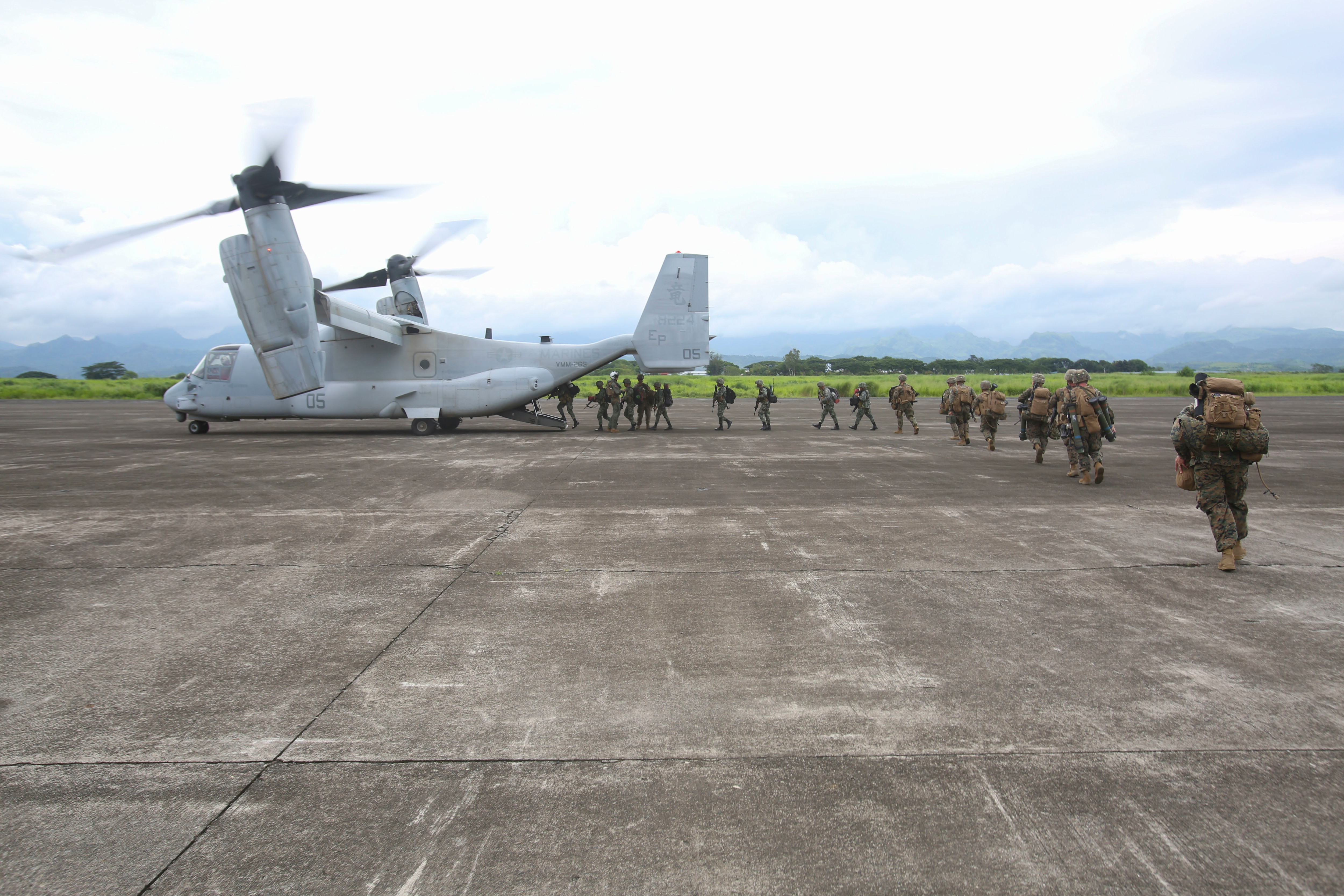 Marines in the Philippines