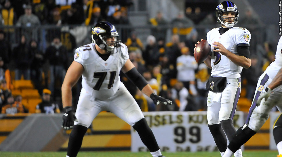 Ravens 2014: Rick Wagner, Joe Flacco