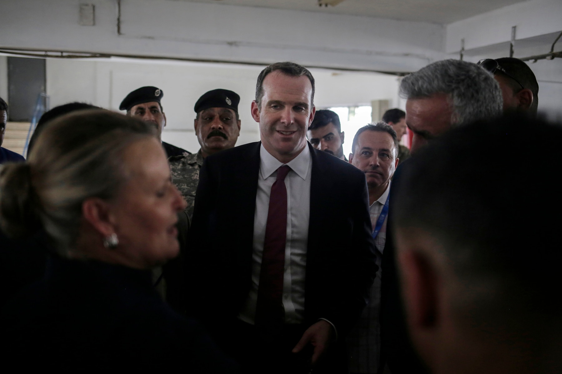 Brett McGurk, water treatment plant, Mosul