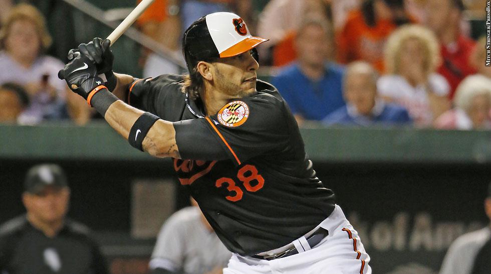 Orioles 2013: Michael Morse (batting)