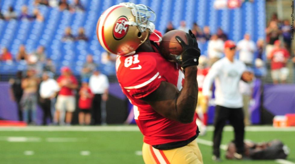 NFL 2014: San Francisco 49ers: Anquan Boldin (preseason)