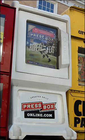 PressBox Street Box