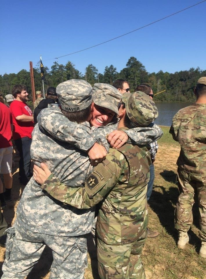Making history: Lisa Jaster, 37, first female Army Reserve graduate of Army Ranger School