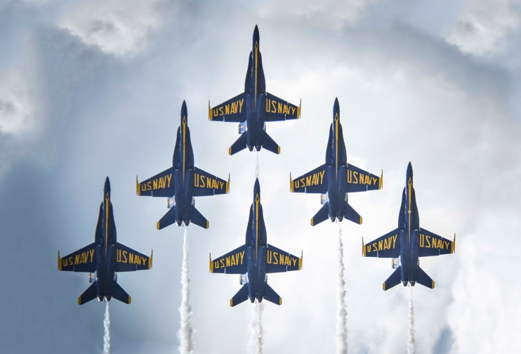 Blue Angels at New Orleans Air Show