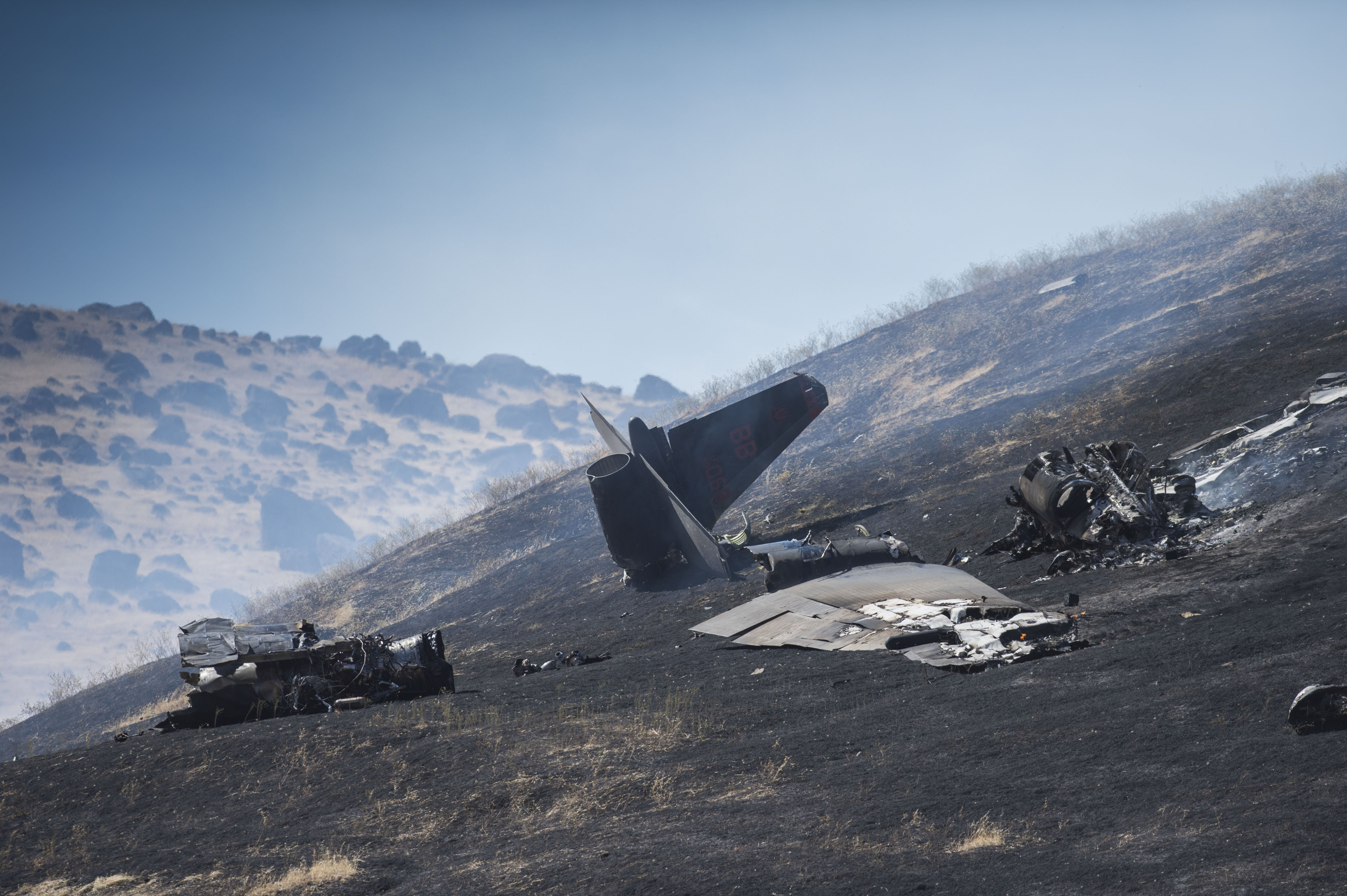 Pilot error blamed for fatal California U2 spy plane crash