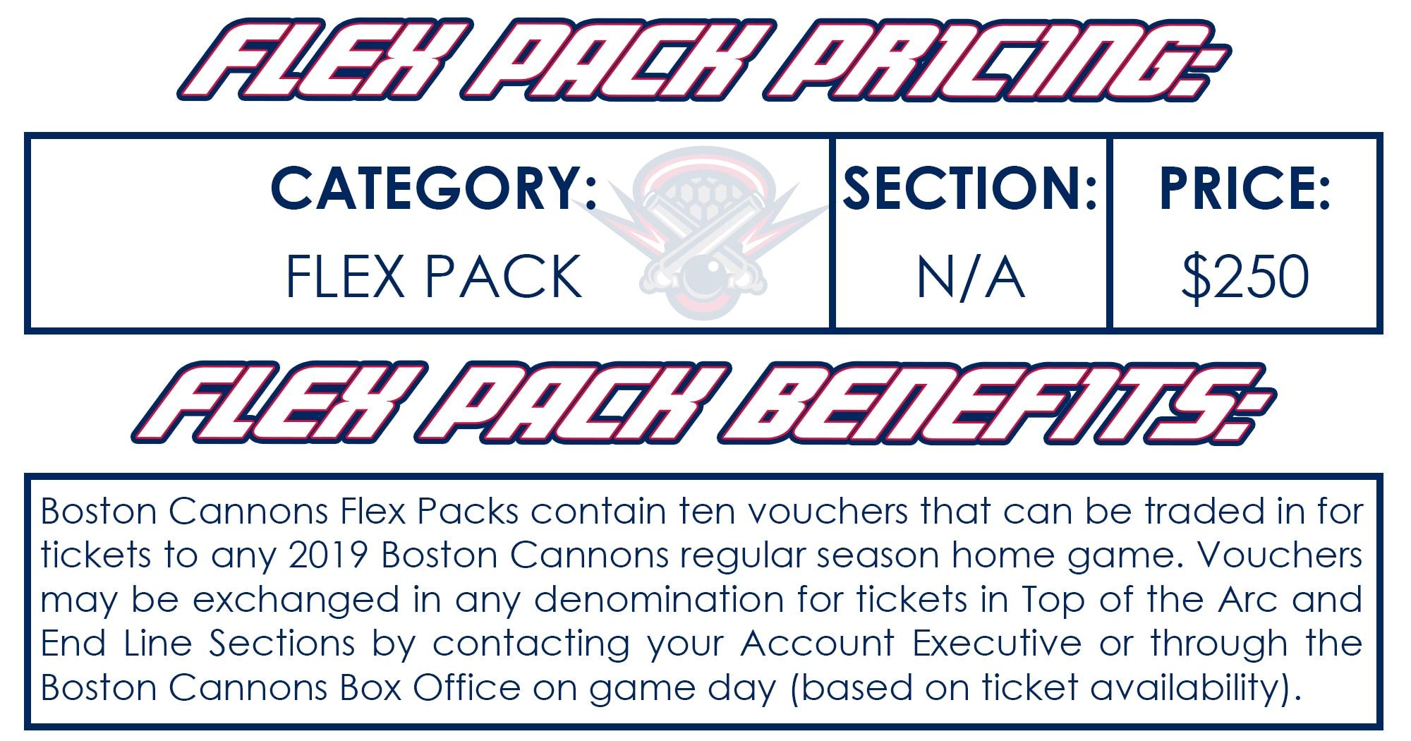 Flex Pack Info