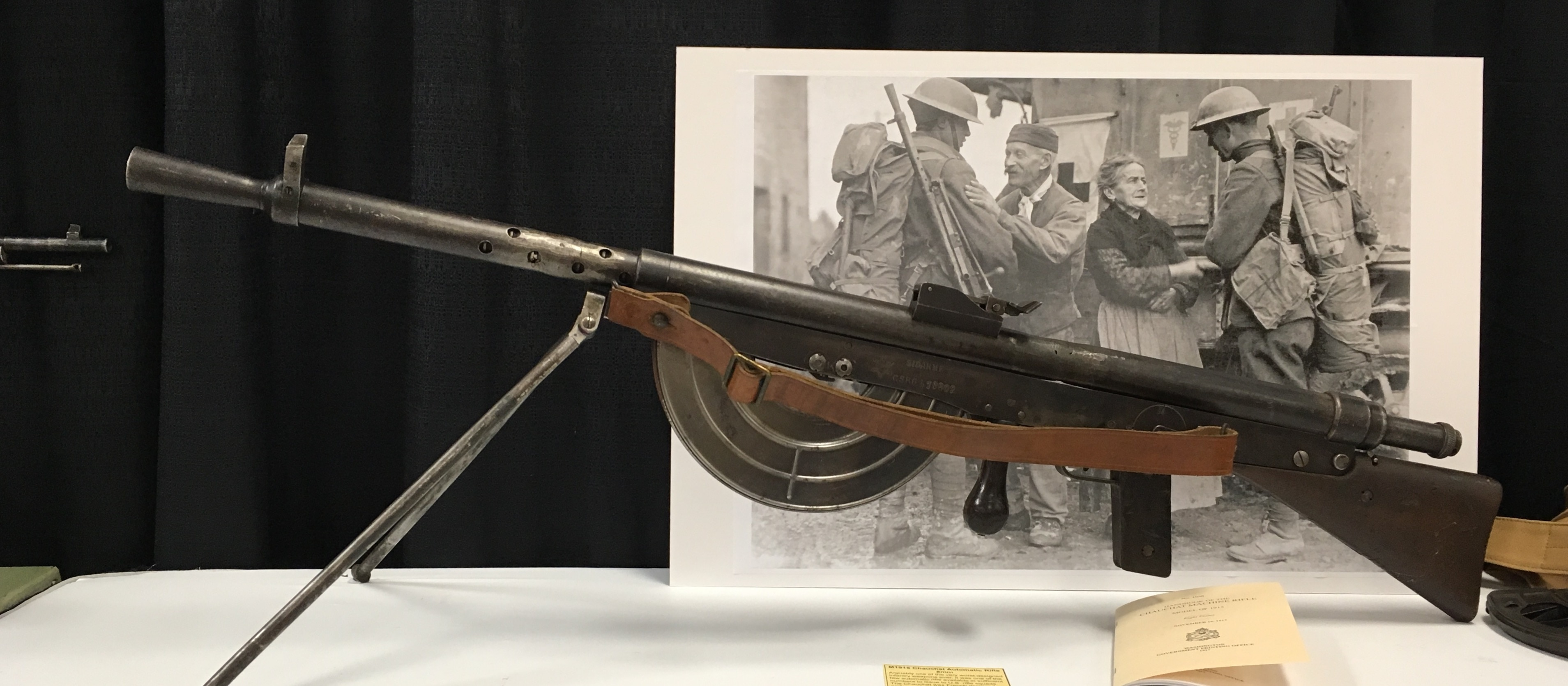 The M1915 Chauchat Automatic Rifle