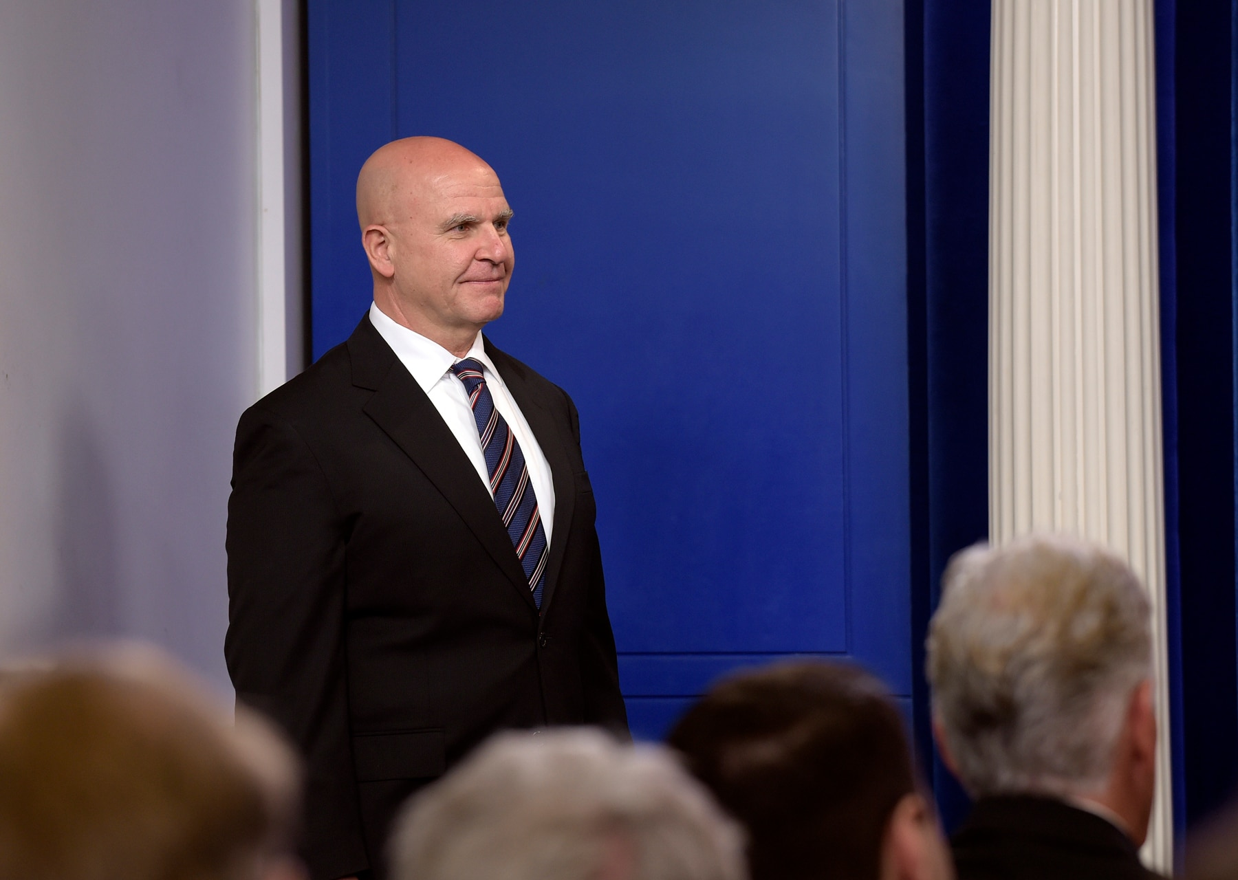 National Security Adviser H.R. McMaster, White House, press briefing