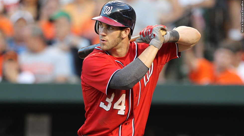 Nationals 2012: Bryce Harper (batting)