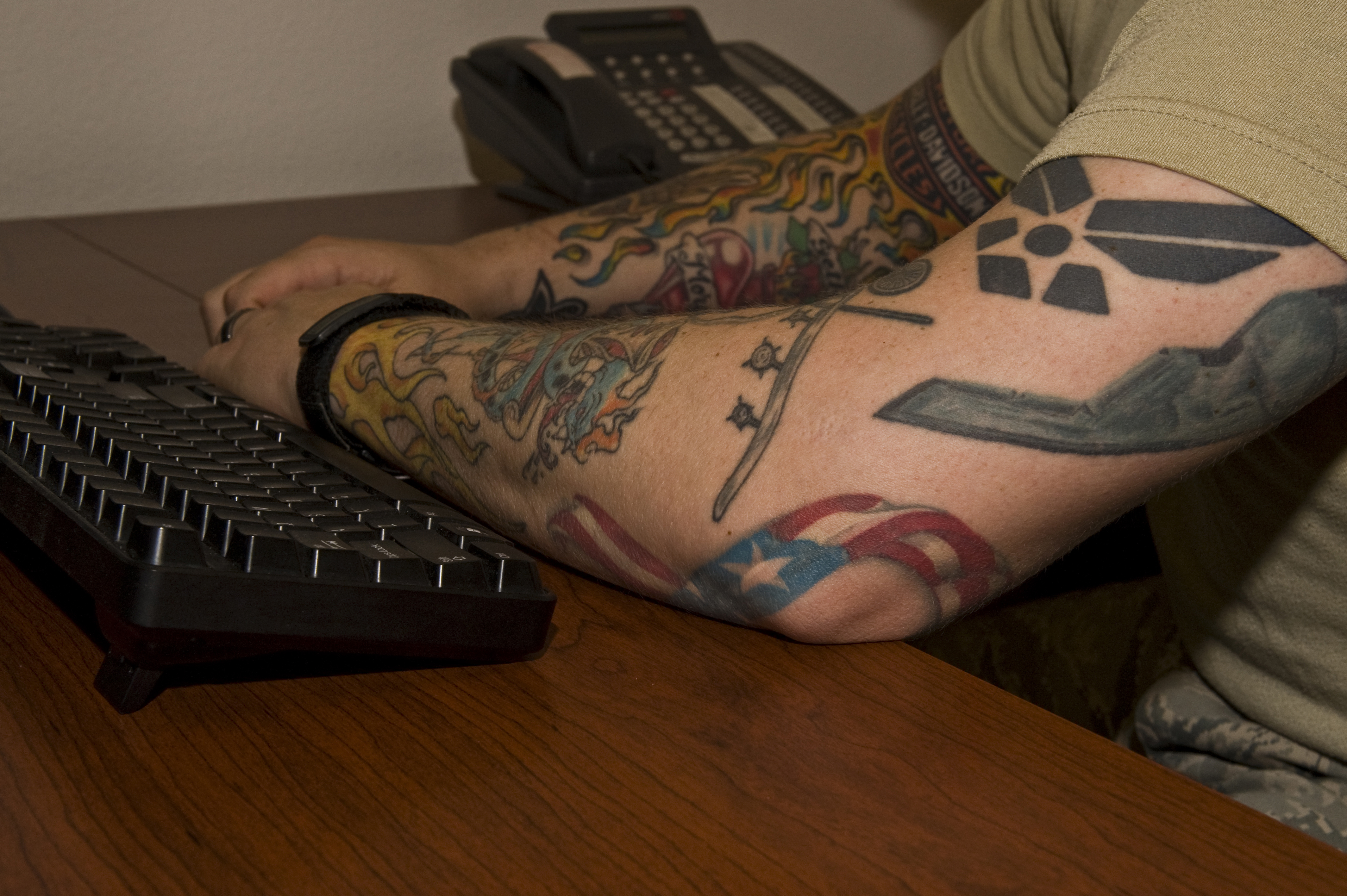Air Force loosens tattoo rules, recruiting restrictions (airforcetimes.com)