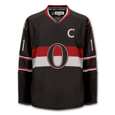 Ottawa Senators Heritage Jersey