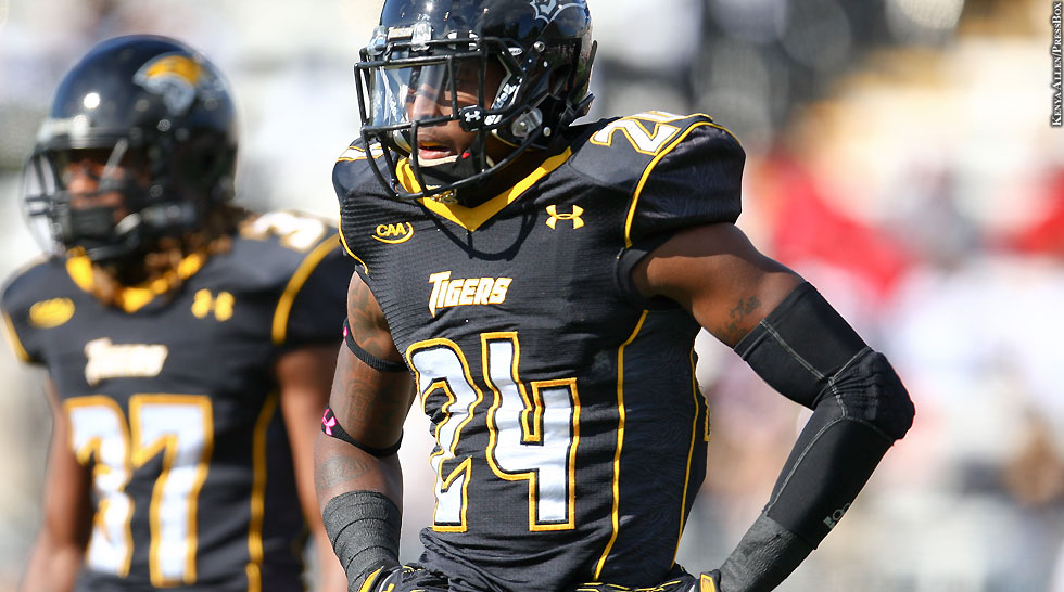 Towson Football 2014: Tye Smith