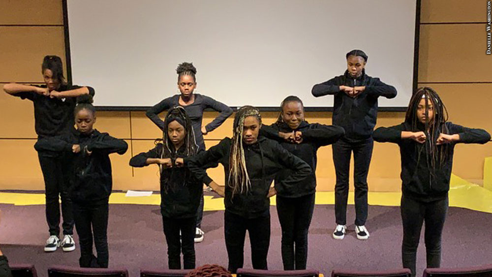 Issue 250: Henderson-Hopkins step team