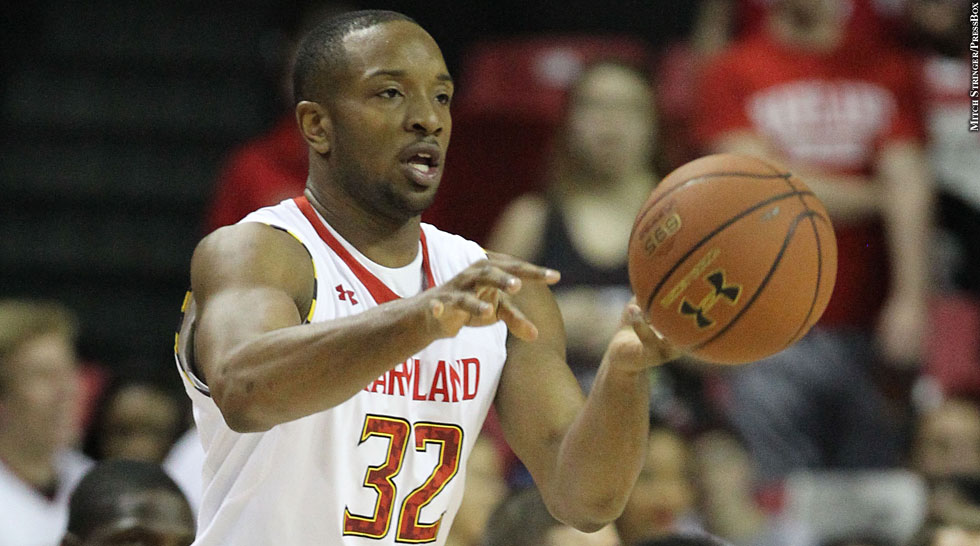 Terps Basketball 2013: Dez Wells (passing)