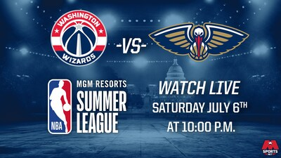 Wizards vs. Pelicans Summer League Promo