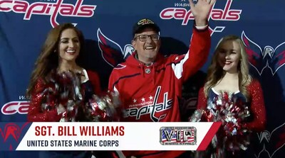 #CapsJackets Game 2 Salute to the Troops 4/15/18