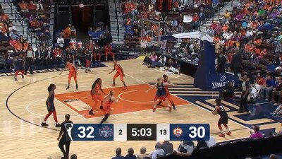 Highlights: Mystics @ Sun 5/25/19