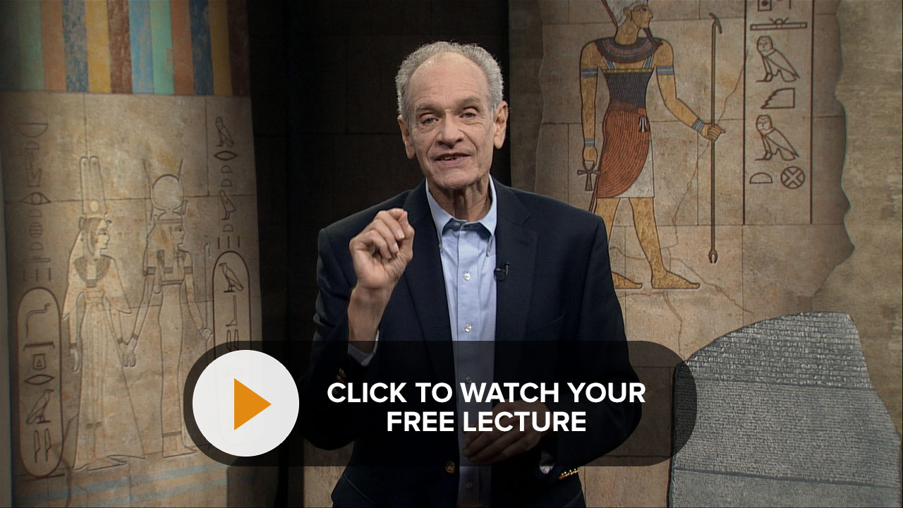 Decoding the Secrets of Egyptian Hieroglyphs Free Lecture Video