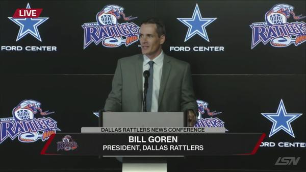 Dallas Rattlers Introductory Press Conference