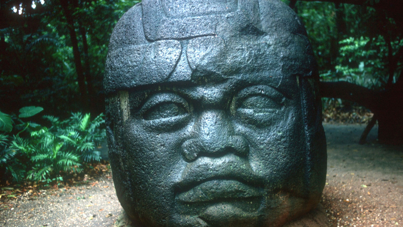 Colossal Olmec Heads