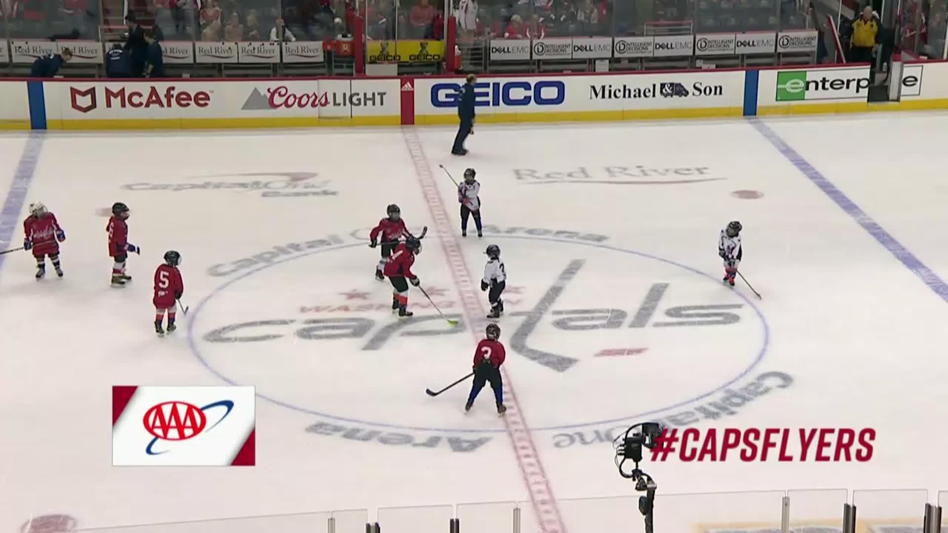#CapsFlyers Mites on Ice 1/31/18