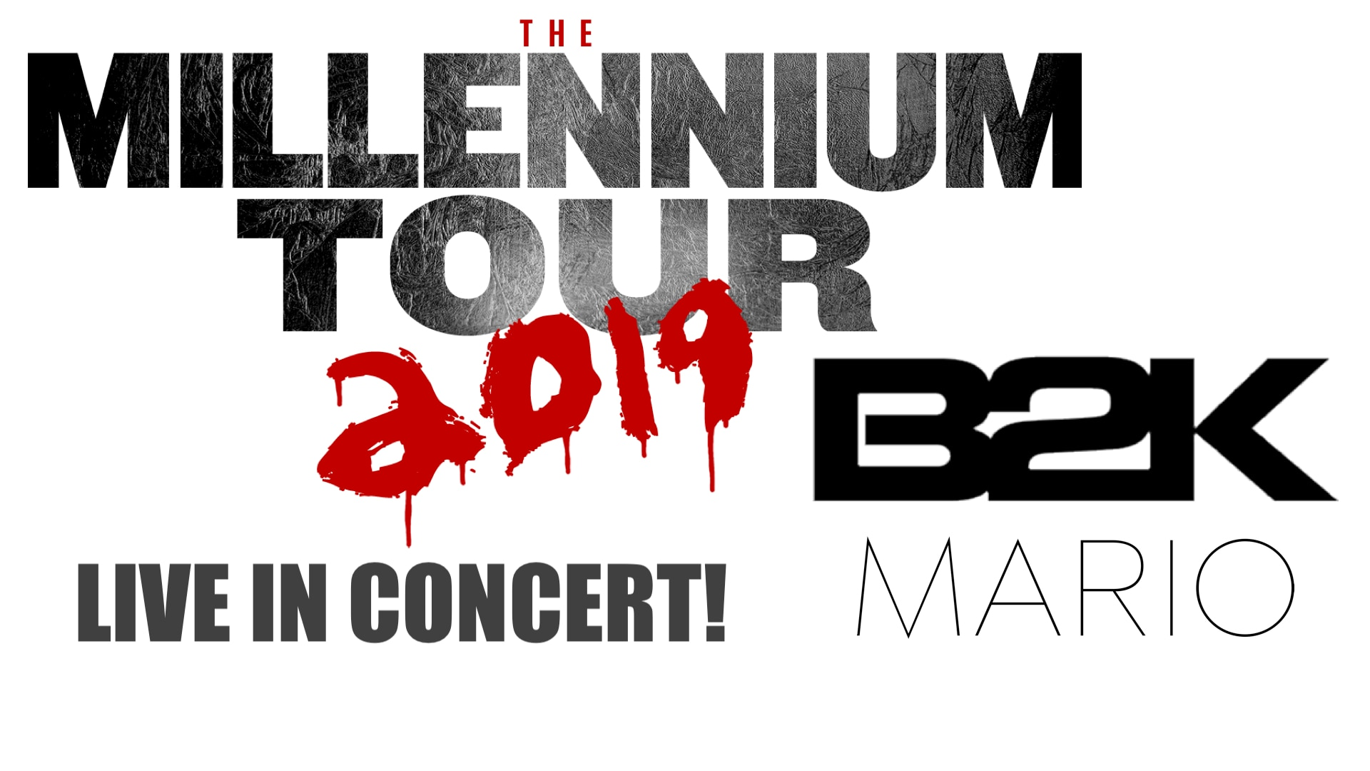 The Millennium Tour: B2K, Mario, Pretty Ricky, Lloyd, Chingy, and the Ying Yang Twins