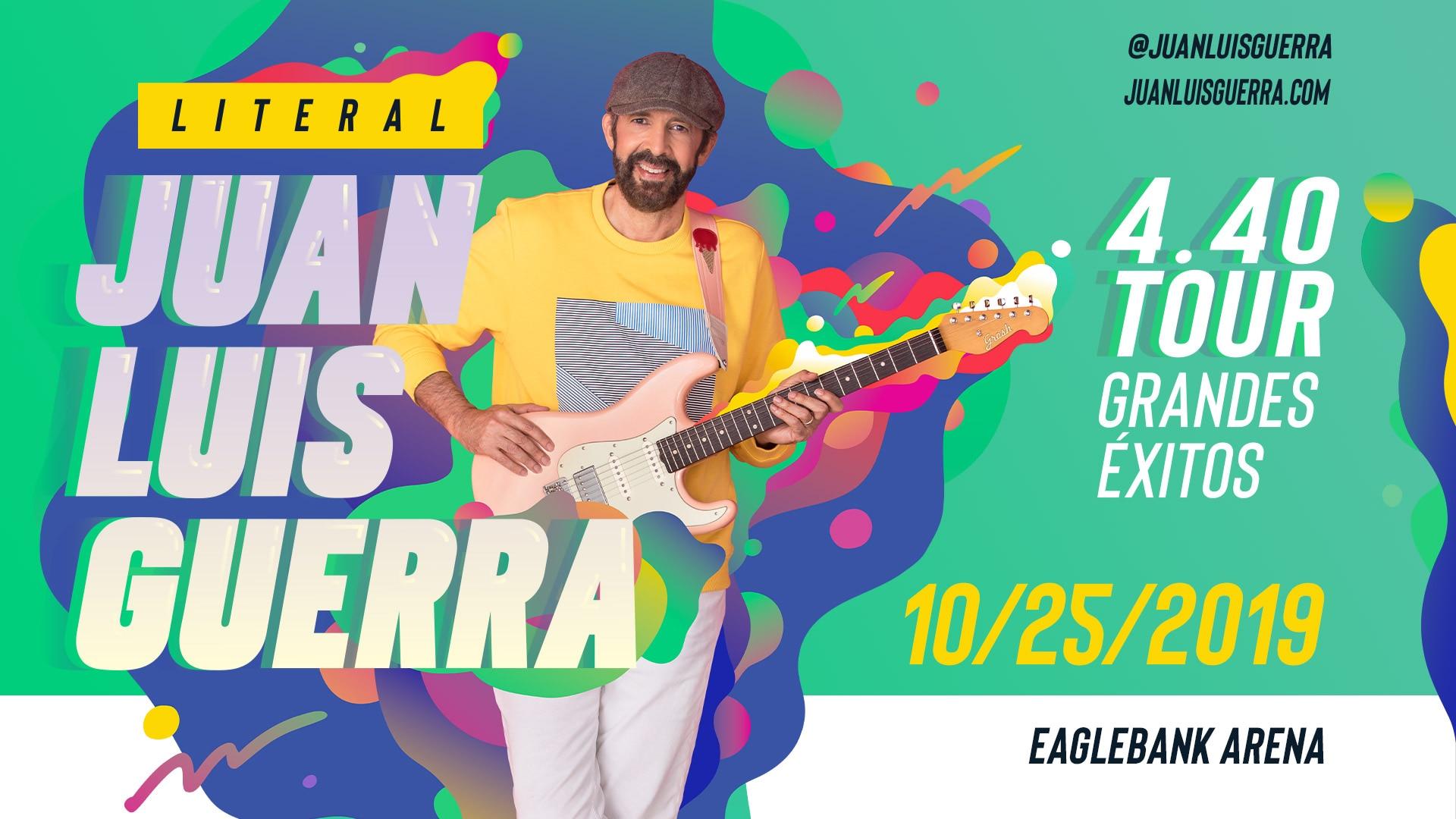Juan Luis Guerra - Literal Tour