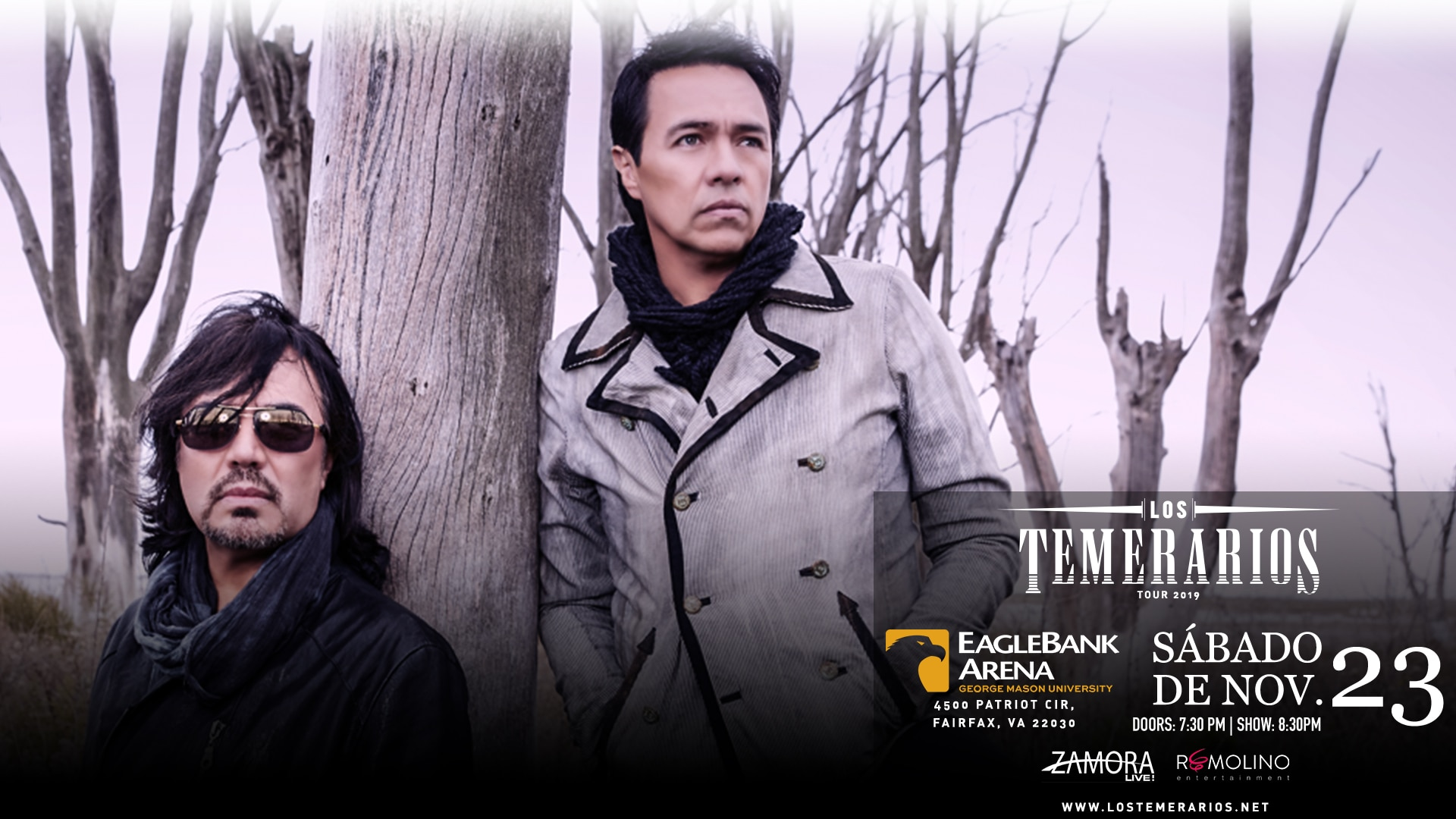 Los Temerarios  2019 Tour
