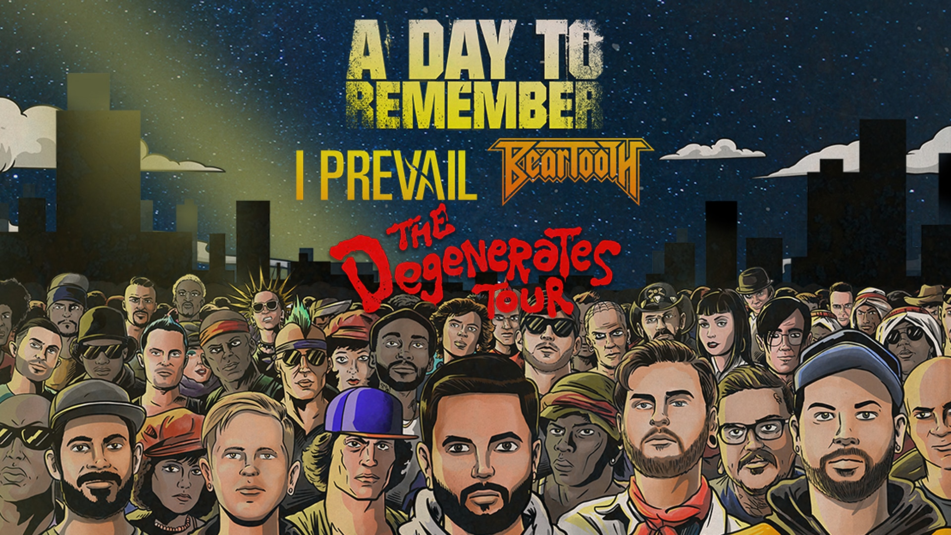 A Day to Remember - Degenerates Tour