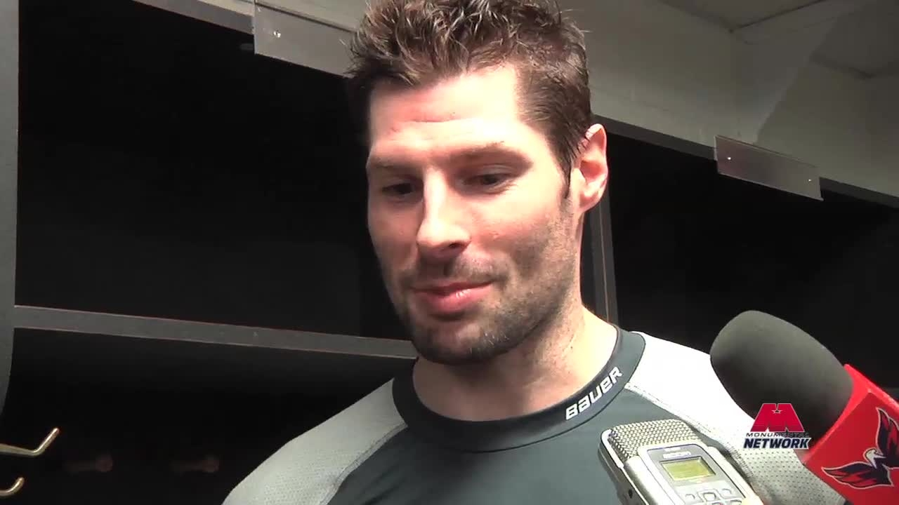 Troy Brouwer Postgame 12/20/13