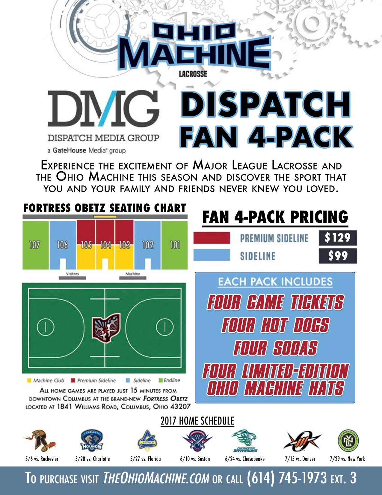 Special Ticket Offers   Ohio Machine
