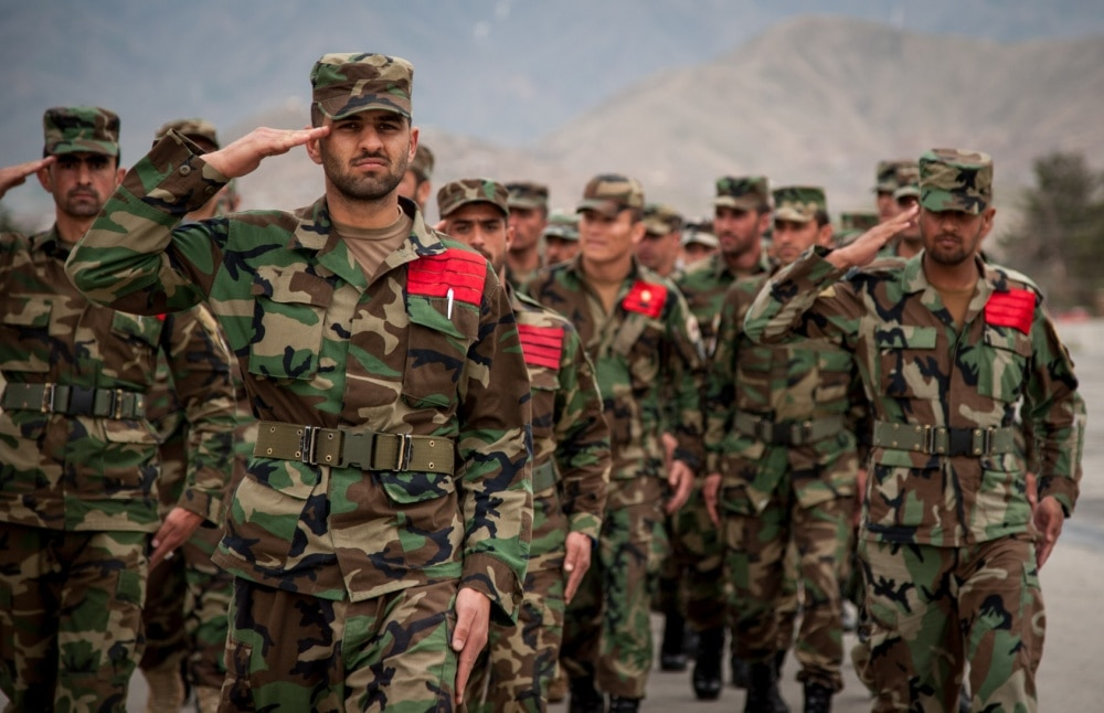 These Afghan army uniforms cost American taxpayers $28