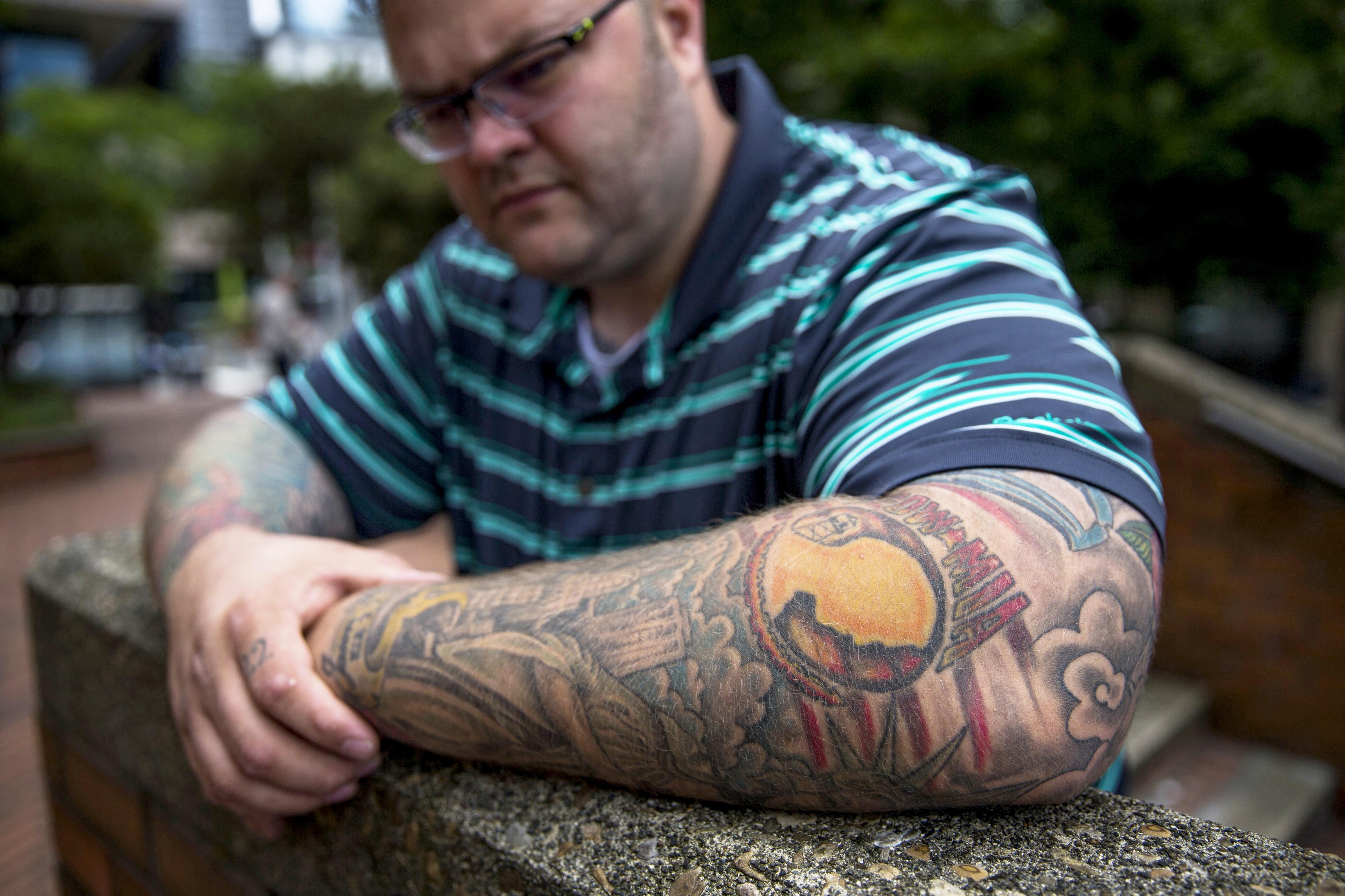 Veterans Tattoos Symbolize Loss Service And Patriotism