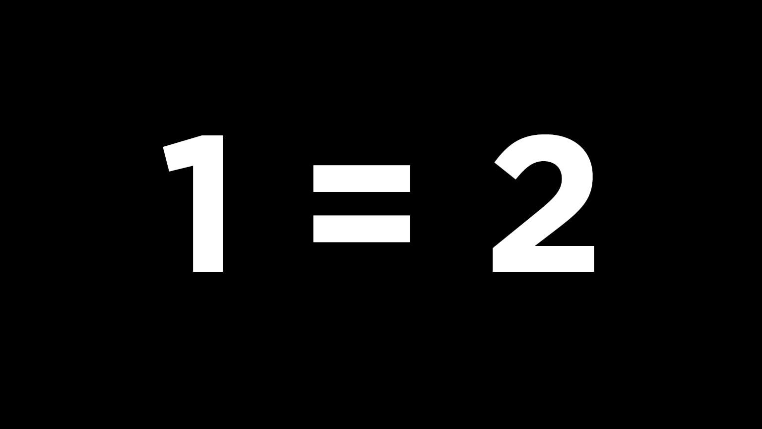 When 1 = 2—False Proofs