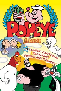 Image of Popeye and Friends: Thirteen Classic Cartoons