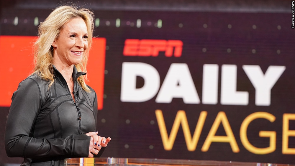 Anita Marks Daily Wager Just The Beginning For Espn